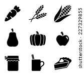 Harvest Food Icons