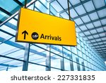 airport departure and arrival... | Shutterstock . vector #227331835