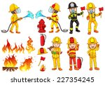 illustration of a group of...   Shutterstock .eps vector #227354245