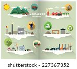 biomass graphic | Shutterstock .eps vector #227367352