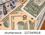 background of us dollars   Shutterstock . vector #227369818