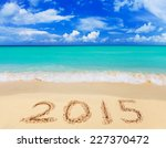 Numbers 2015 On Beach   Concep...