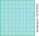 classic elegant pattern. vector ... | Shutterstock .eps vector #227374342