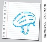 bike helmet   Shutterstock .eps vector #227375578