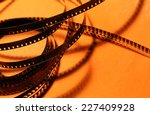 close up of an old 8mm film... | Shutterstock . vector #227409928
