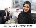 Arabian Businesswoman In Offic...