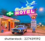 tucumcari  nm usa   may 9  2013 ... | Shutterstock . vector #227439592