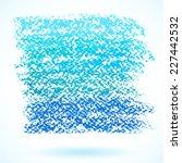 Blue Pastel Crayon Spot ...