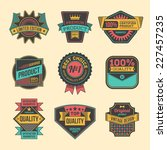 high quality assorted designs... | Shutterstock .eps vector #227457235