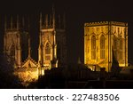 York Minster At Night  Yorkshire