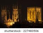 York Minster At Night  Yorkshire
