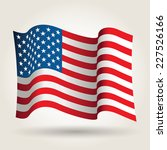 usa flag | Shutterstock .eps vector #227526166