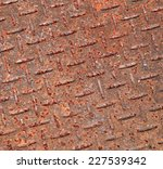 steel pedestrian old rusty... | Shutterstock . vector #227539342