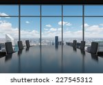 conference room. modern office...   Shutterstock . vector #227545312