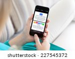 alushta  russia   october 29 ... | Shutterstock . vector #227545372