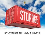Storage   Red Hanging Cargo...
