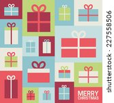 illustration with christmas...   Shutterstock .eps vector #227558506