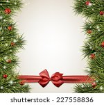 winter abstract background with ... | Shutterstock .eps vector #227558836