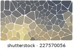 abstract colorful mosaic pattern | Shutterstock .eps vector #227570056