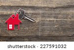 symbol of the house with silver ... | Shutterstock . vector #227591032