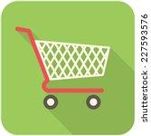 Shopping Cart Icon  Flat Desig...