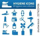 hygiene icons   Shutterstock .eps vector #227622436