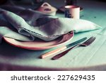 Vintage Tableware  Cutlery With ...