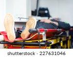 patient in emergency car...   Shutterstock . vector #227631046