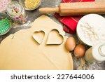 baking cookies is fun  | Shutterstock . vector #227644006