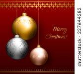 vector illustration of... | Shutterstock .eps vector #227644282