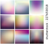 colorful blurred backgrounds   Shutterstock .eps vector #227653018