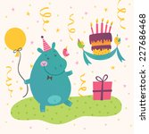 Vector Birthday Greeting Card...