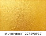 shiny yellow leaf gold foil... | Shutterstock . vector #227690932