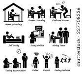 homeschooling home school... | Shutterstock . vector #227708236