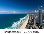 Aerial View Of Gold Coast's...