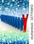 team leader. company boss.... | Shutterstock . vector #227743852