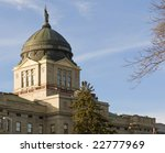 The Montana State Capitol Building in downtown Helena