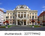 the old slovak national theatre ...