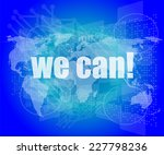 we can text on digital touch... | Shutterstock . vector #227798236