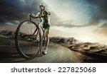 sport. road cyclist.  | Shutterstock . vector #227825068