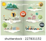 geothermal graphic | Shutterstock .eps vector #227831152