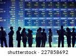 stock exchange market trading... | Shutterstock . vector #227858692