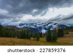 global warming. mountain... | Shutterstock . vector #227859376