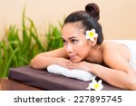 indonesian asian woman in... | Shutterstock . vector #227895745