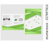 business brochure design. vector | Shutterstock .eps vector #227897812