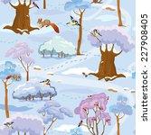 seamless pattern   winter...   Shutterstock . vector #227908405