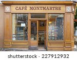 paris   july 9  typical wooden... | Shutterstock . vector #227912932