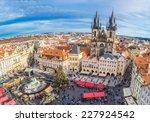 prague   december 21  old town... | Shutterstock . vector #227924542