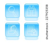 glassy search icons. 2d...