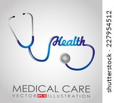 medical graphic design   vector ... | Shutterstock .eps vector #227954512